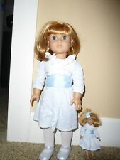 """American Girl 18"""" Doll Nellie O'Malley AND Mini Nellie ~ Retired ~"""