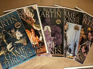 Game of Thrones #1-5 (2011) Alex Ross Cover Dynamite Comics George RR NM-/NM