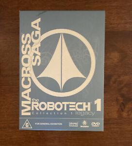 Robotech - Macross Saga - Legacy Collection 1 DVD Box (DVD, 2002, 3-Disc Set)