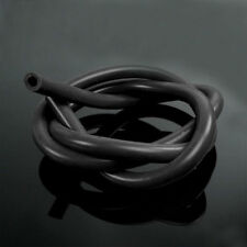 "6mm 1/4""ID Full Silicone Fuel/Air Vacuum Hose/Line/Pipe/Tube 1 Meter 3.3ft Black"