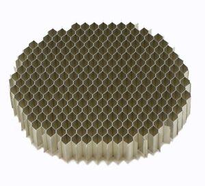 4.0 OD x .5  Airflow Straightener Screen .187 honeycomb cell mass air flow