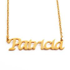 Camilla-Nombre Collar chapado en oro 18ct-Personalizado-Regalos Para Ella nupcial