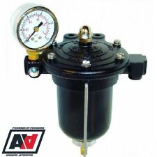 Malpassi Motorsport Filter King Fuel Regulator Filter 1.5 To 5 Psi & Gauge ADV