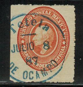 Mexico #O3b Perf.11 1888 Used
