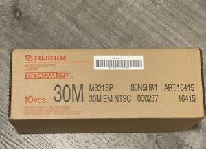 Fujifilm M321SP 30M Betacam SP Professional Video Tape (Case of 10)