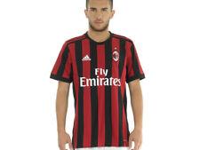 Maglia Gara AC Milan 2017-2018 Uomo Home adidas Az7069 Rosso-nera M