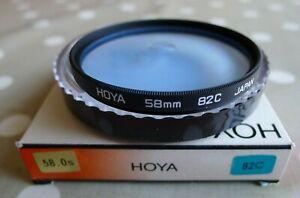 HOYA 58mm  82C FILTER.