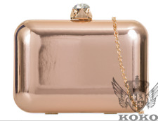 New Collection Ladies Holographic Hard Body Large Crystal Top Clutch Bag Handbag