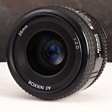 +Nikon AF 35mm F2 D Prime FX Lens with Caps from Japan SLR, DSLR, Mirrorless