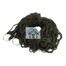 Army Green Garden Hammock Mesh Net Hang Rope Travel Camp Outdoor Swing Quality