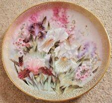 Collectable Lena Liu Bradford exchange by George porcelain plate,Iris