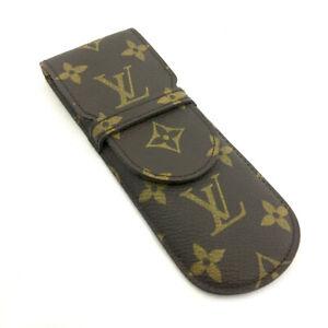 Louis Vuitton Monogram Etui Stylos Pen Case /90216