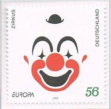 2002 Duitsland 2252 Europa CEPT - Het Circus