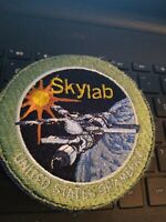 SKYLAB PROJECT VINTAGE ORIGINAL NASA CLOTH BACK SPACE PATCH SEE STORE /AUCTIONS
