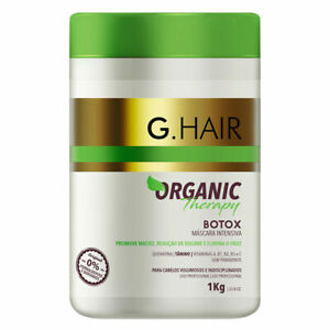 HAIR Botox GHAIR ORGANIC THERAPY - Powerful volume reducing action