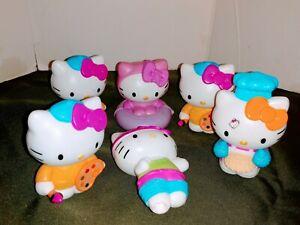 Lot of 6 McDonald's Hello Kitty Happy Meal Toys  Sanrio
