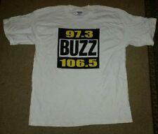 Toledo Bumper Sticker Rock Radio Station BUZZ 106.5 97.3 wbuz wjze & NEW T-SHIRT