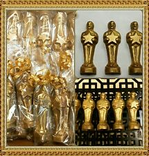 5** AWARD STATUE EMMY OSCARS CHOCOLATE MOLD SOLID MERCKENS MILK CHOCOLATE GOLD