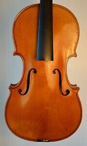 Old French Violin - Albert Deblaye 1922 label - very good condition