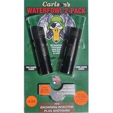 Carlson's 12 GA Waterfowl Browning Invector Plus 2-Pack Choke Tubes #07360