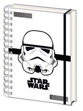 Official Star Wars Stormtrooper Notepad Notebook Hardback A5 Stationary TV Gift