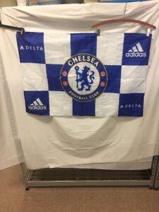 CHELSEA FOOTBALL CLUB Flag Banner Adidas Premier League Stamford Blues Pensioner