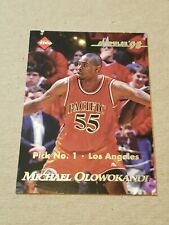 1998 1999 Collector's Edge Michael Olowokandi Pulse Rookie Basketball Card #1