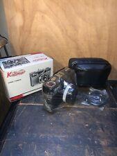 Kalimar DK-3  35mm Film Camera & Case Black Vintage New Old Stock!