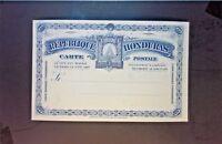 Honduras Early 3 Cent Blue UPU Postal Card Unused - Z1256