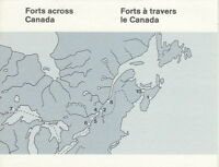 Canada BK86 32¢ Canadian Forts Complete Booklet MNH
