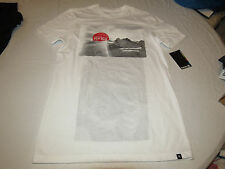 Hurley Premium fit John John Men's T shirt tee S small 10A white mts0013960 NEW