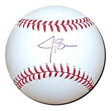 Authentic Autographed Baseball Signed by New York Mets Jay Bruce