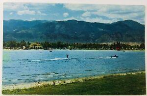 Vintage Colorado Springs Colorado CO Prospect Lake Recreational Center Postcard