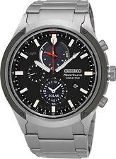 Seiko SSC479 SSC479P1 Sportura Mens Solar Alarm World Time Watch RRP $999.00