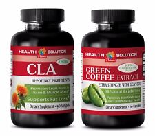 Fat loss capsules - CLA - GREEN COFFEE GCA800 COMBO - green coffee vitamin