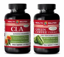 Fat loss pills for men - CLA - GREEN COFFEE GCA800 COMBO - green coffee slim
