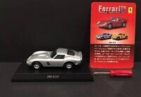 Kyosho 1/64 Ferrari 10 250 GTO Assembled Diecast Car Model SILVER