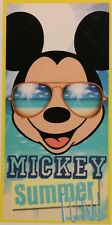 Toalla de Playa Mickey Verano Fun Disney Baño 100% Algodón 140x70 Cm para Niños