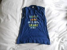 Boys Blue Vest Top Age 3-5 years