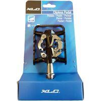 XLC Pedali MTB Doppia Funzione Compatibili SPD