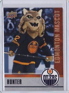 2020-21 UD Upper Deck Hunter Edmonton Oilers Mascot Card  NHCD SP #M6 Mint