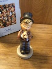 "New ListingGoebel Hummel - ""Serenade"" #85/0 - 5"" Tmk6 Mint w/ price tag Boy ""Flutist"""