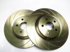PAIR FRONT SLOTTED DISC ROTORS (365mm):HOLDEN HSV COMMODORE VE 2006-2009 (LH+RH)