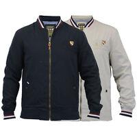 Mens Baseball Jackets By Santa Monica Stripe Bomber Coat