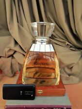 Vera Wang extra Large thick glass Bottle  Factice Unique and extremly Rare L@@K
