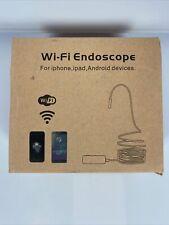 BlueFire Semirigid Flexible Wireless Endoscope Waterproof WiFi Borescope J