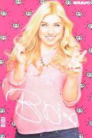 BIANCA HEINICKE - Autogrammkarte - Bibi Autogramm YouTube Bibis Beauty Palace