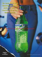 Sprite Drink 1999 Magazine Advert #7599