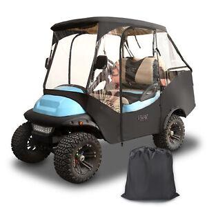 10L0L Golf Cart Driving Enclosure Cover for 4 Passenger (2+2) Club Car Precedent