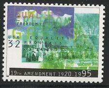 US Scott #2980, Single 1995 Equality 32c VF MNH